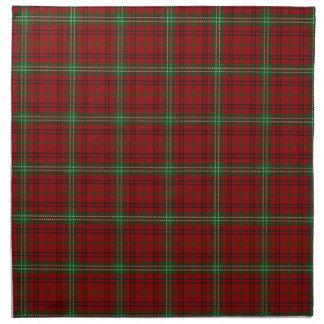 Scottish Clan Morrison Tartan Napkin