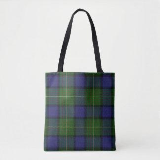 Scottish Clan Muir Tartan Plaid Tote Bag