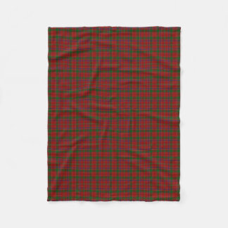 Scottish Clan Munro Classic Tartan Fleece Blanket