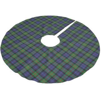 Scottish Clan Murray Tartan Brushed Polyester Tree Skirt