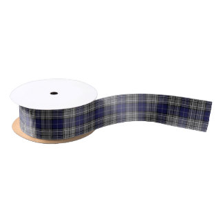 Scottish Clan Napier Classic Tartan Satin Ribbon