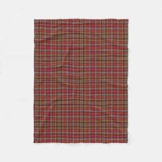 Scottish Clan Ogilvie Ogilvy Classic Tartan Fleece Blanket
