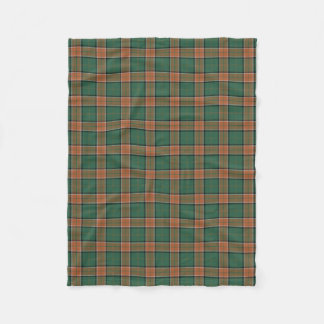Scottish Clan Pollock Classic Tartan Fleece Blanket