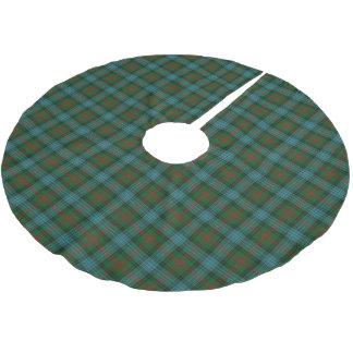 Scottish Clan Ross Hunting Tartan Brushed Polyester Tree Skirt