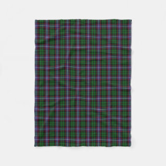 Scottish Clan Russell Classic Tartan Fleece Blanket