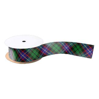 Scottish Clan Russell Classic Tartan Plaid Satin Ribbon