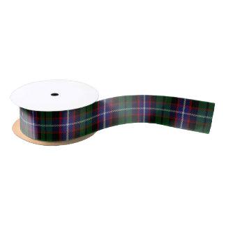 Scottish Clan Russell Classic Tartan Satin Ribbon