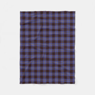 Scottish Clan Rutherford Classic Tartan Fleece Blanket