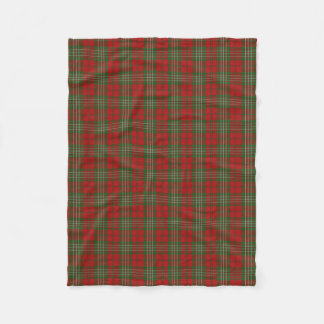 Scottish Clan Scott Classic Tartan Fleece Blanket