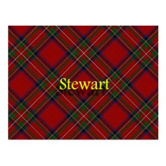 Scottish Clan Stewart Postcard