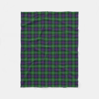 Scottish Clan Sutherland Classic Tartan Fleece Blanket