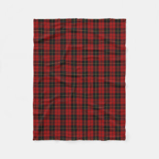 Scottish Clan Wallace Classic Tartan Fleece Blanket
