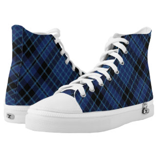 Scottish Clergy Tartan Plaid High Tops