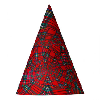 scottish coloured vortex   PARTY HAT
