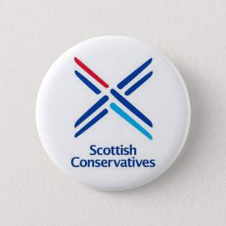 Scottish Conservatives 6 Cm Round Badge