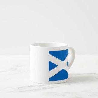 Scottish Cross Scotland Colors Espresso Mug