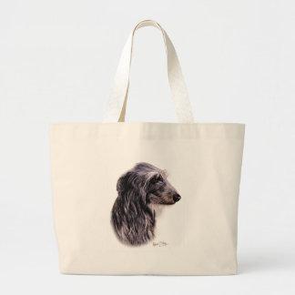 Scottish Deerhound Large Tote Bag