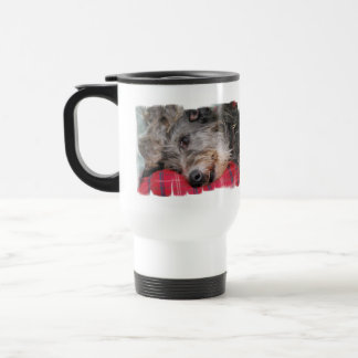 Scottish Deerhound  Travel Mug