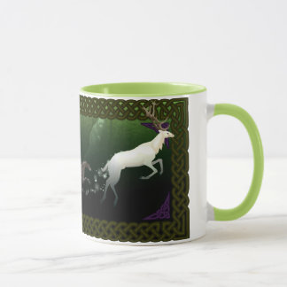 Scottish Deerhounds and White Stag Mug