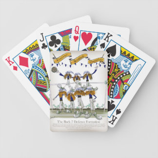 scottish defenders bicycle playing cards