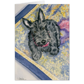 Scottish Delights Scottie Card