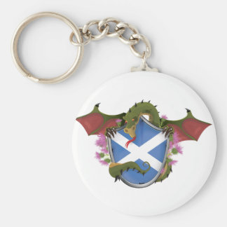 Scottish Dragon Key Ring