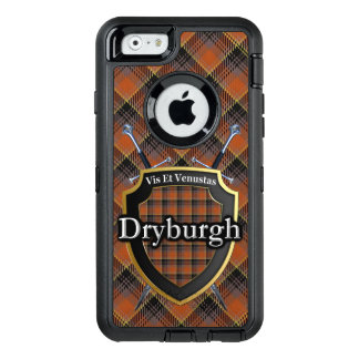 Scottish Dryburgh Swords and Shield Tartan OtterBox Defender iPhone Case