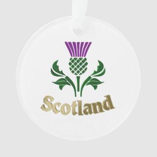 Scottish emblem thistle ornament