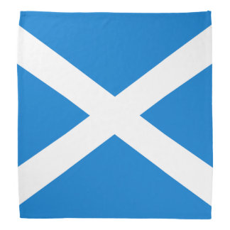 Scottish flag bandana