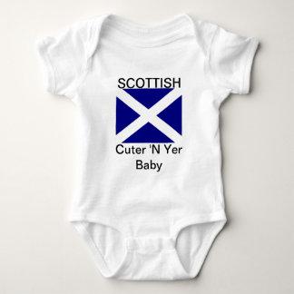 Scottish Flag Clothing Baby Bodysuit
