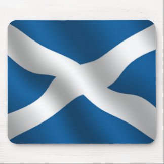 scottish flag mousemat