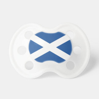 Scottish flag of Scot;and custom baby pacifier