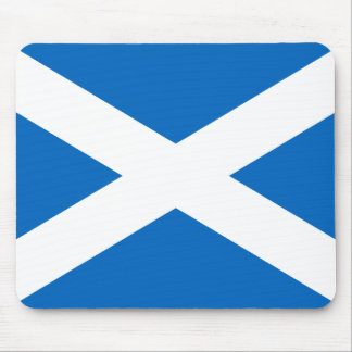 Scottish Flag of Scotland Saint Andrew's Cross Sal Mouse Pad