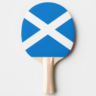 Scottish flag ping pong paddle