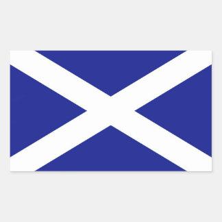 Scottish Flag Rectangular Sticker