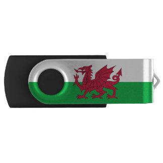 Scottish flag swivel USB 2.0 flash drive