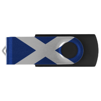 Scottish flag USB flash drive