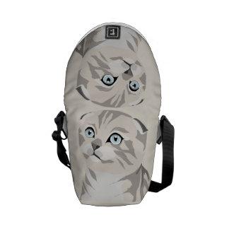 Scottish Fold Kitten Bag Stock market Courier Bag