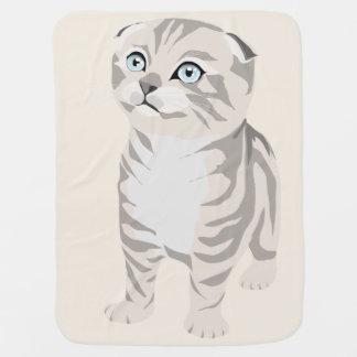 Scottish Fold Kitten Blanket Blanket for baby