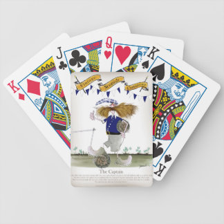 scottish football captain bicycle playing cards