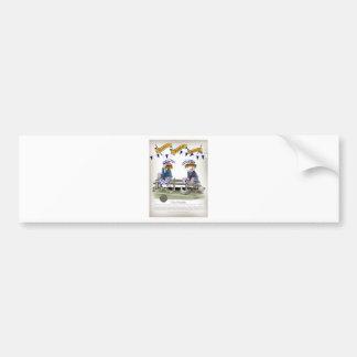 scottish football pundits bumper sticker