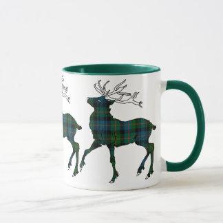 Scottish (Glenalmond) Tartan Stag Mug