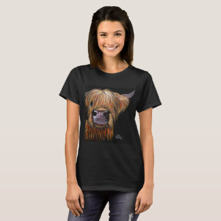 Scottish Hairy Highland Cow 'HENRY' T-Shirt & Tops