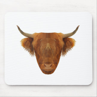 Scottish Highland Cattle Scotland Animal Cow Mouse Pad