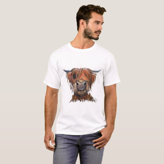Scottish Highland Cow 'BRUCE' T-Shirt