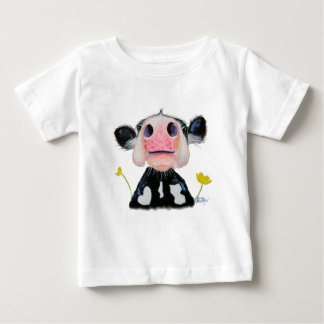 Scottish Highland Cow 'DAFFODIL' Kids Baby T-Shirt