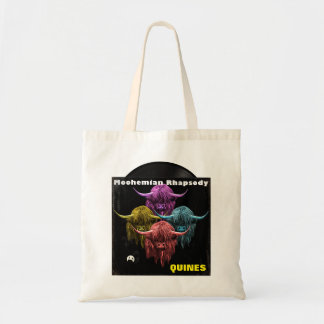 Scottish Highland Cow. Moohemian Rhapsody Budget Tote Bag