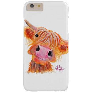 Scottish Highland Cow 'Nessie' on iPhone Case