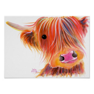 Cow Art Amp Wall D 233 Cor Zazzle Com Au