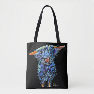 Scottish Highland Cow ' THoMaS ' by Shirley M Tote Bag